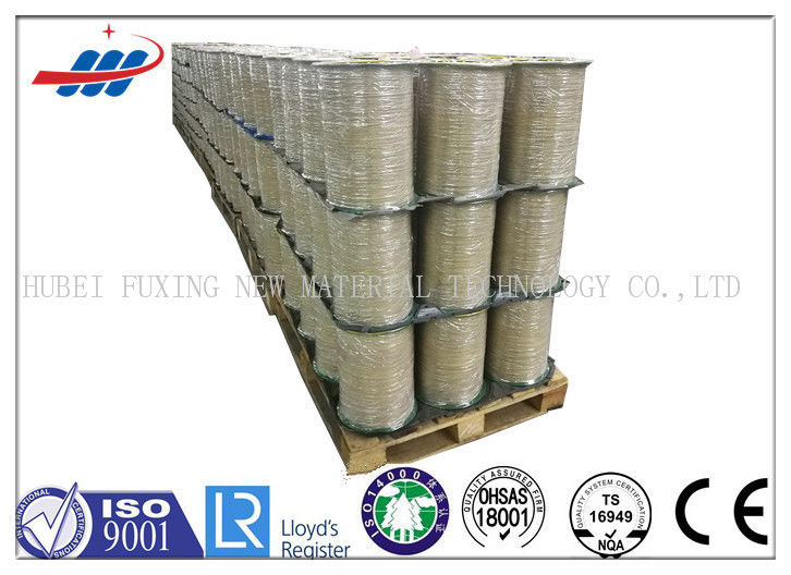 Metal Carcass Tyre Steel Cord Clear Surface With High Carbon Materials