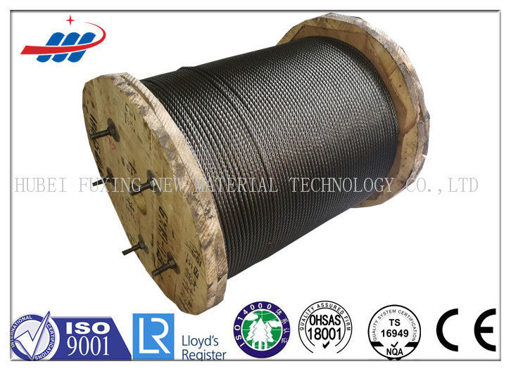 Durable Elevator Wire Rope Dia 10mm With Double Tensile Strength 1370/1770MPA