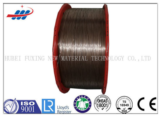 0.78mm Copper Plated Steel Wire Smooth Surface For Vehicles , CE ISO Listed
