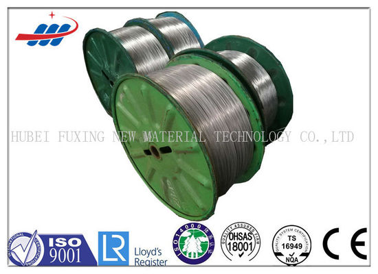 High Strength Steel Galvanized Wire 1520-1720MPA Size Customized